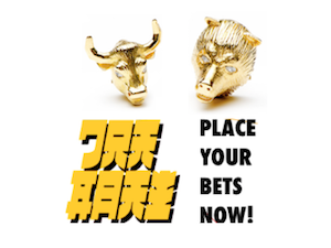 Gold: Place your bets now!