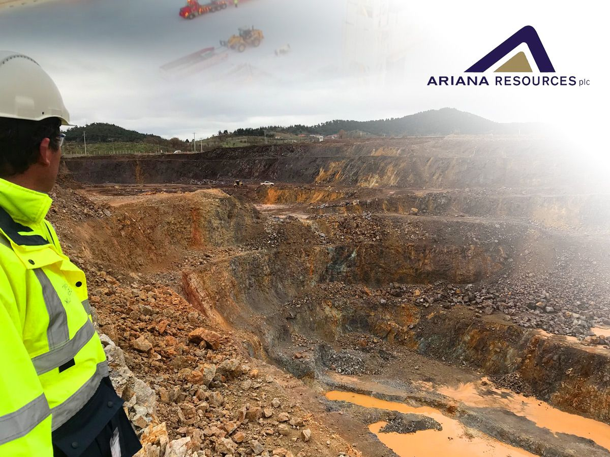 Ariana Resources jumps as strong Kiziltepe gold production continues (AAU)