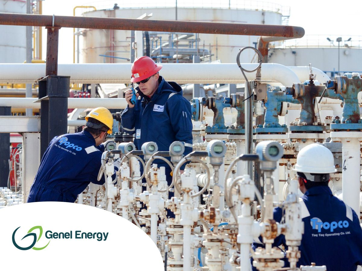 Genel reports output from Taq Taq field hits 15,500 bopd as TT-20z well goes onto production (GENL)