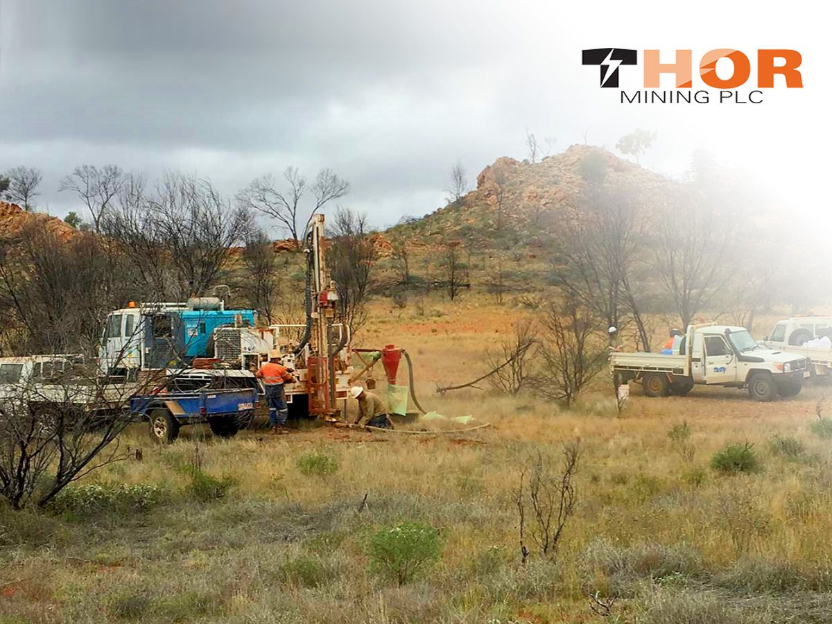 Thor Mining confirms high grade tungsten at Bonya with 'very good' assay results (THR)