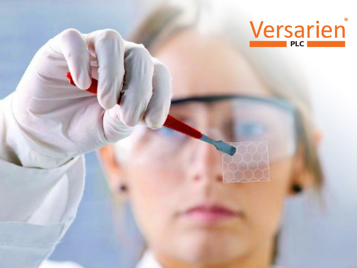 Versarien reports increased revenue and confirms supply agreement with AECOM (VRS)