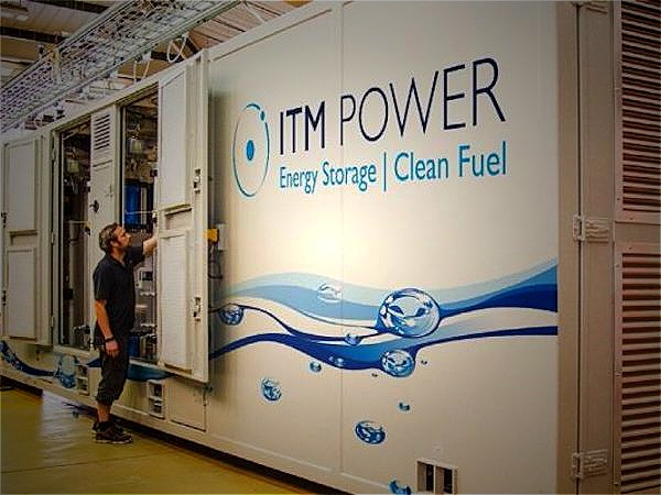 ITM Power advances as gov report highlights hydrogen's critical role in cutting UK emissions (ITM)