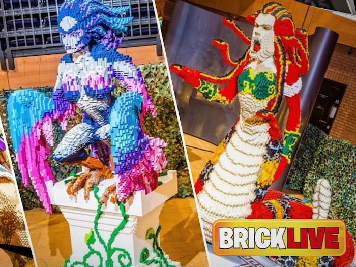 Live Company group exhibits Bricklive Ocean at Edinburgh Zoo and dinosaurs in Beijing (LVCG)