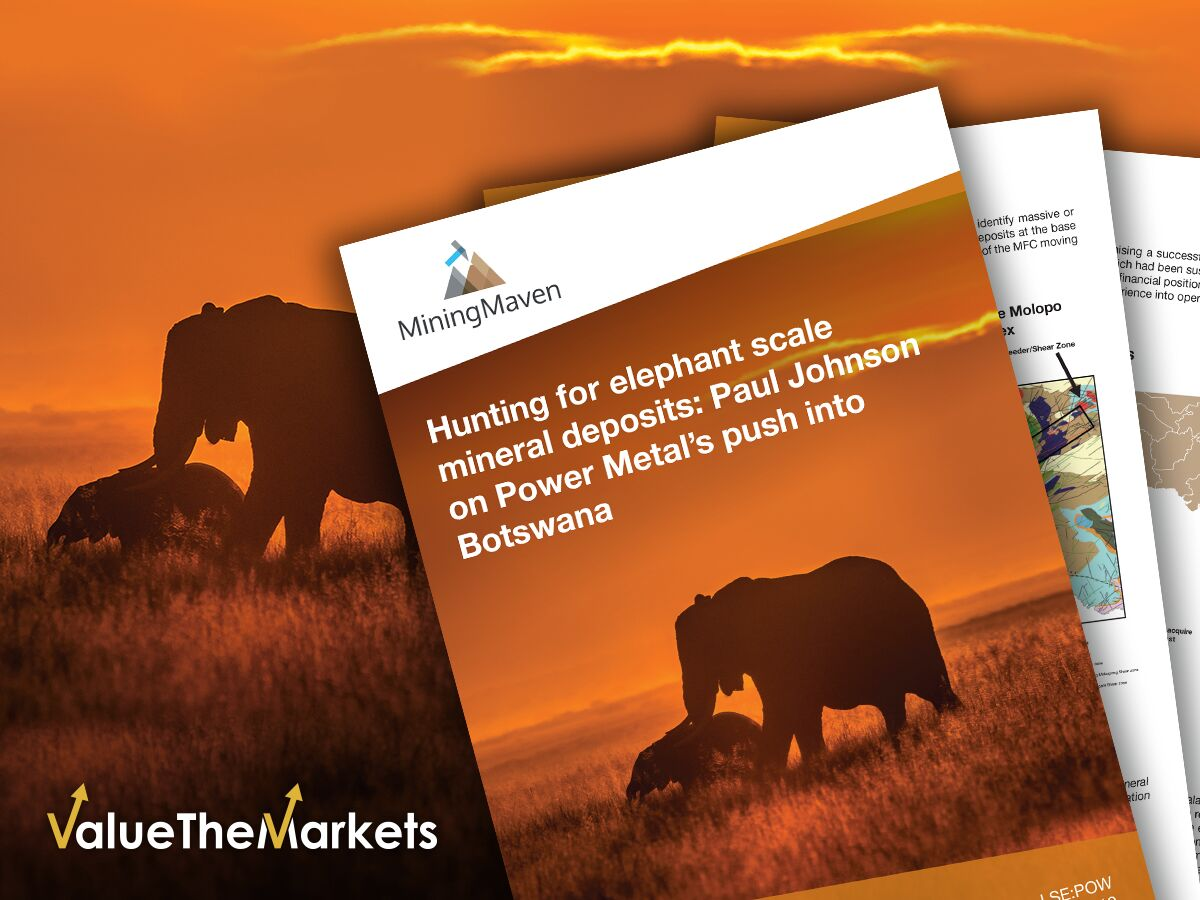 Hunting for elephant scale mineral deposits: Paul Johnson on Power Metal's push into Botswana (POW)