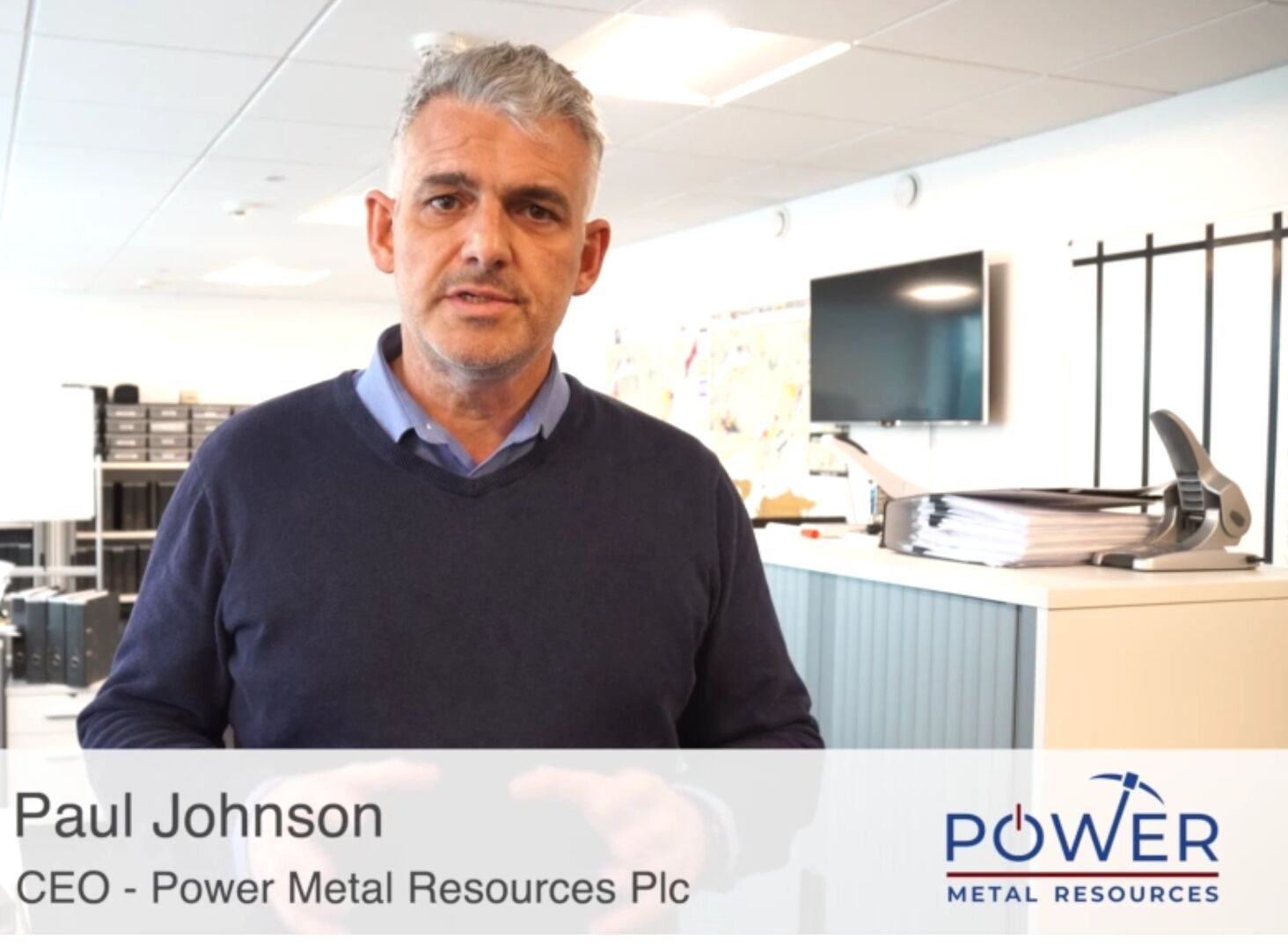 VIDEO: Power Metal's Paul Johnson on company's exciting plans and taking over as CEO (POW)
