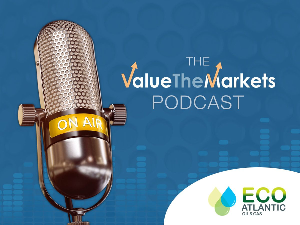ValueTheMarkets Podcast 029 – with Gil Holzman, CEO of Eco Atlantic Oil & Gas (ECO)