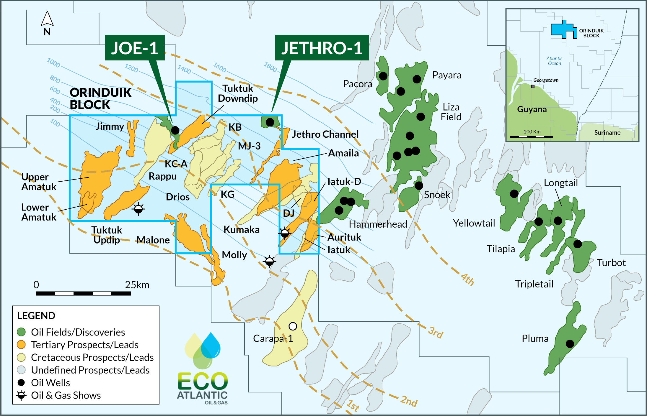 Eco Atlantic reveals major 2020 Orinduik drilling programme to follow up recent discoveries (ECO, TLW)