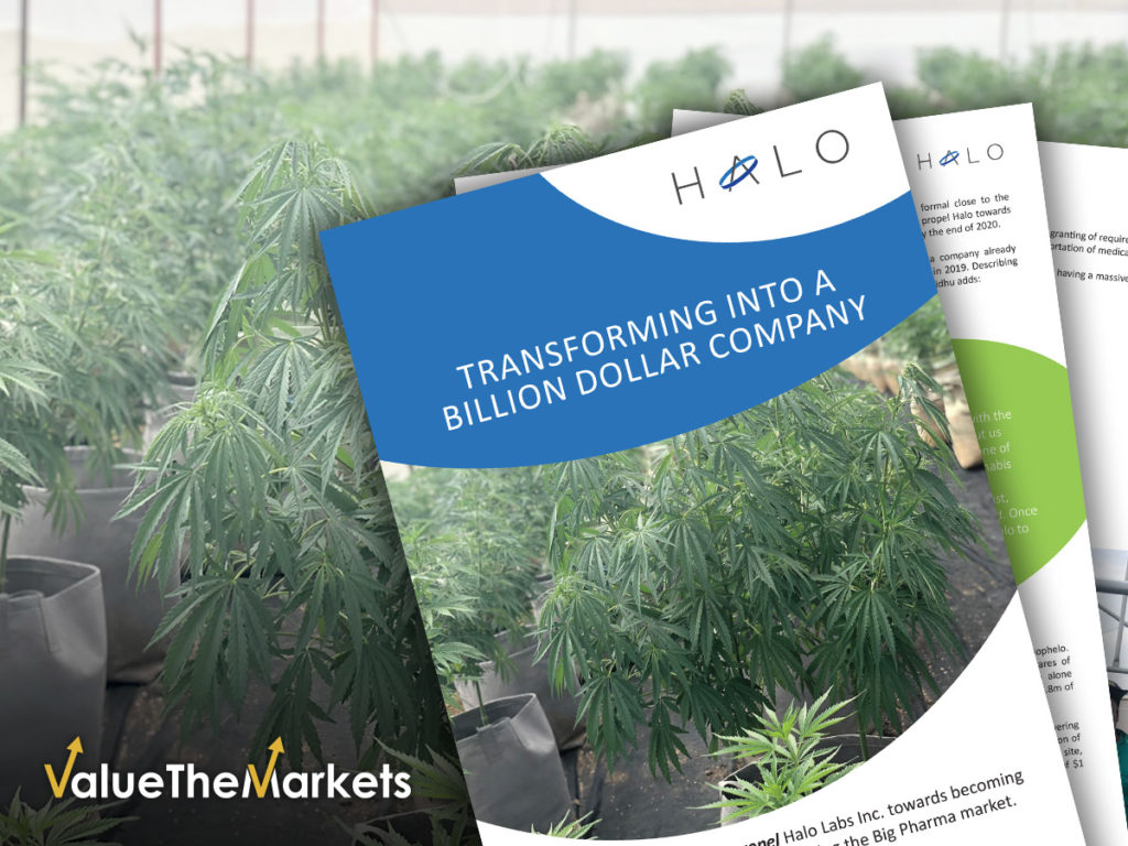 EXCLUSIVE REPORT DOWNLOAD: Halo Labs – Transforming into a Multibillion Dollar company (OTCQX:AGEEF) (NEO:HALO)