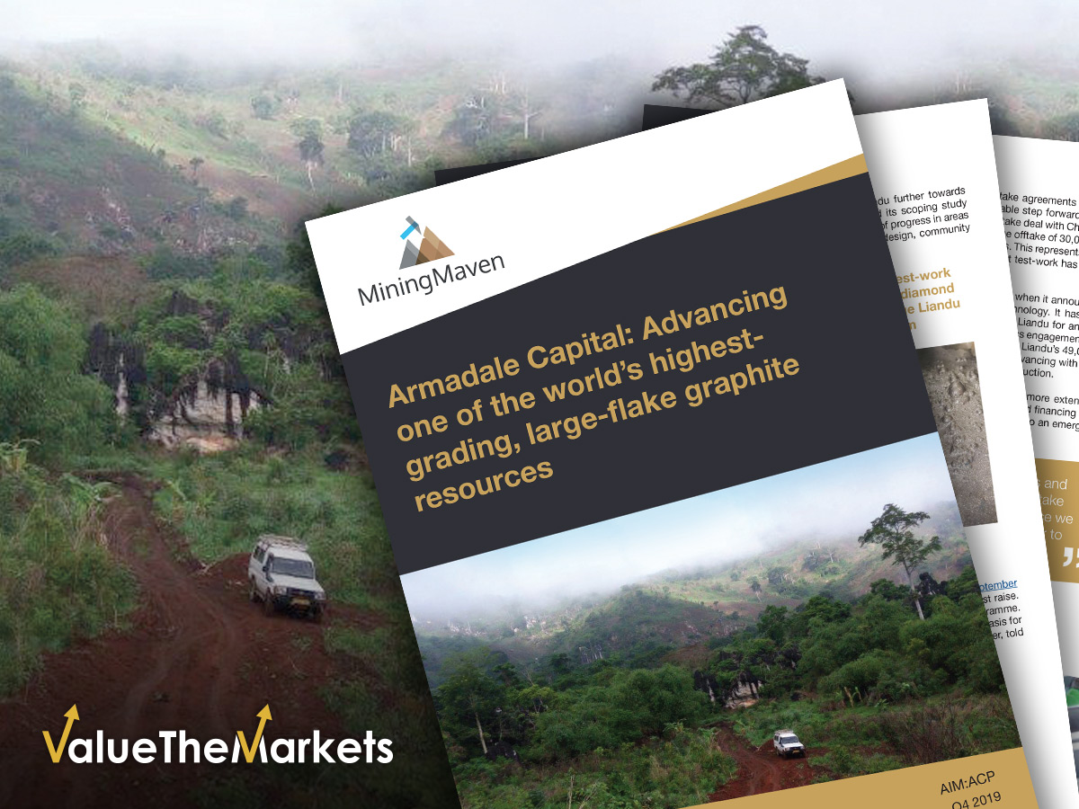 Armadale Capital: Advancing one of the world's highest-grading, large-flake graphite resources (ACP)