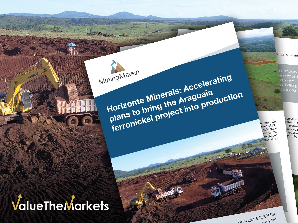 REPORT: Horizonte Minerals- Accelerating the Araguaia ferronickel project towards production (HZM)