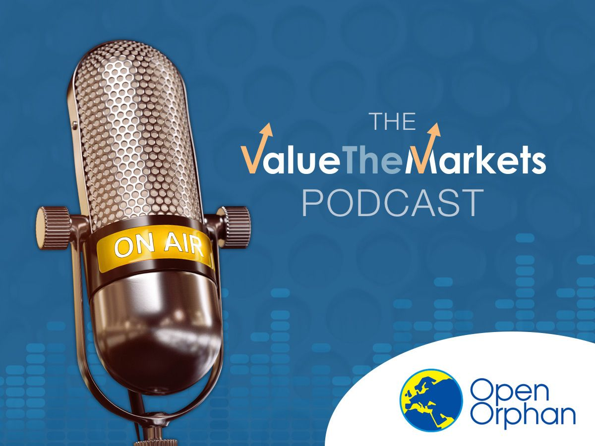 ValueTheMarkets Podcast 032 – with Maurice Treacy, Chief Commercial Officer of Open Orphan (ORPH)