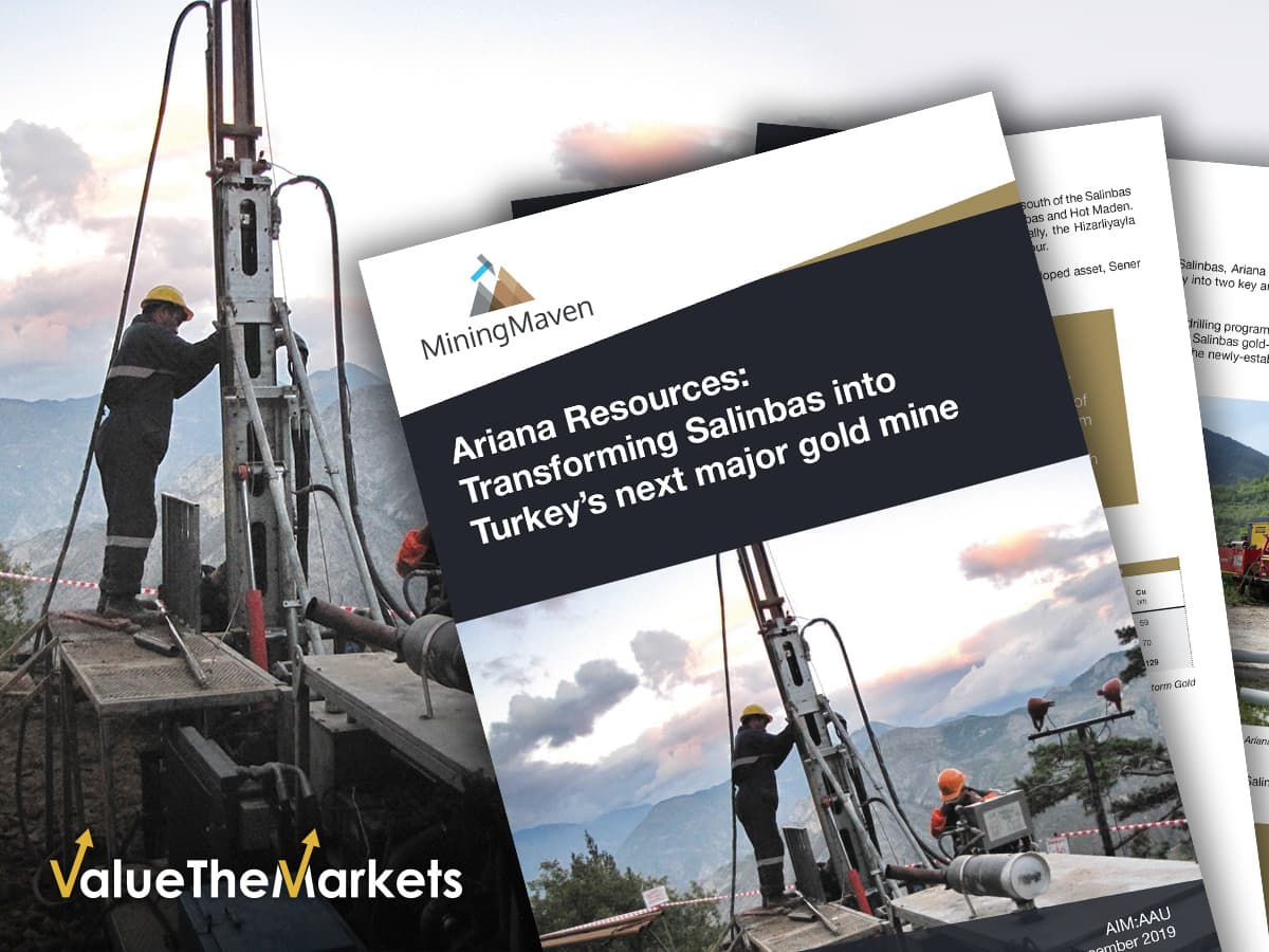REPORT: Ariana Resources- Transforming Salinbas into Turkey's next major gold mine