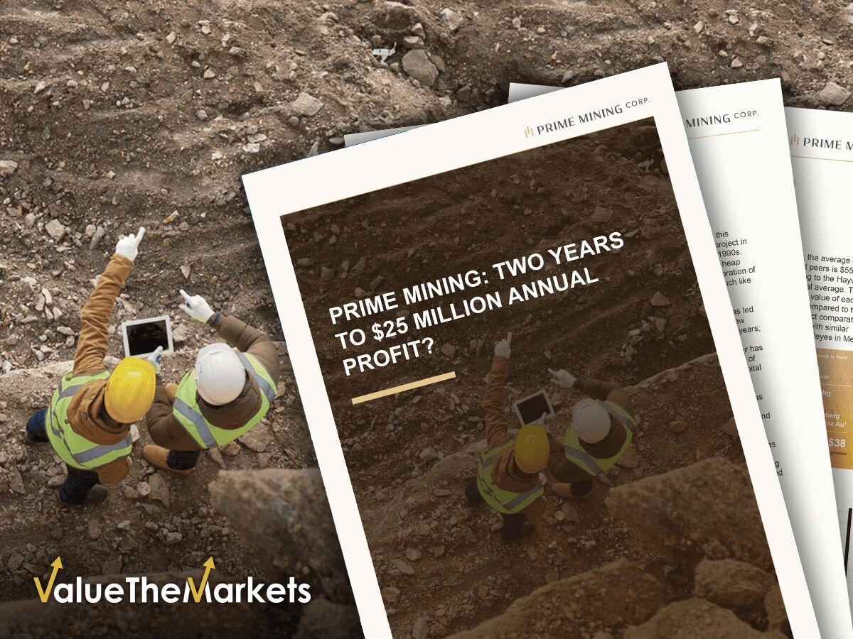 Prime Mining 2020 Business Report (TSX-V:PRYM, OTCMKTS:EPWMF)