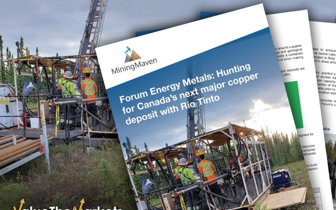 REPORT: Forum Energy Metals- Hunting for Canada's next major copper deposit with Rio Tinto (FMC)