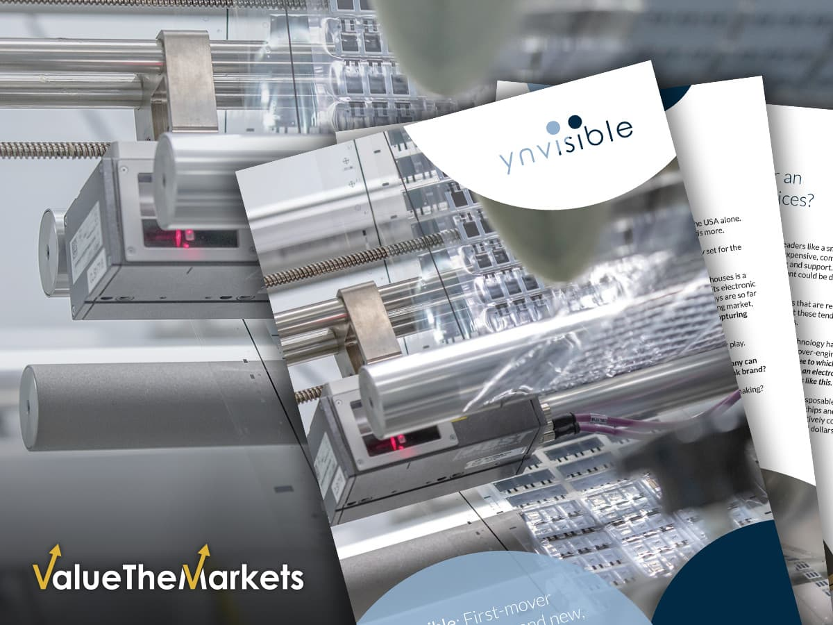 SPECIAL REPORT: Ynvisible Interactive Inc – targeting the $300 billion Smart Healthcare boom with printed electronics (TSXV: YNV │OTCQB: YNVYF│1XNA:GR)