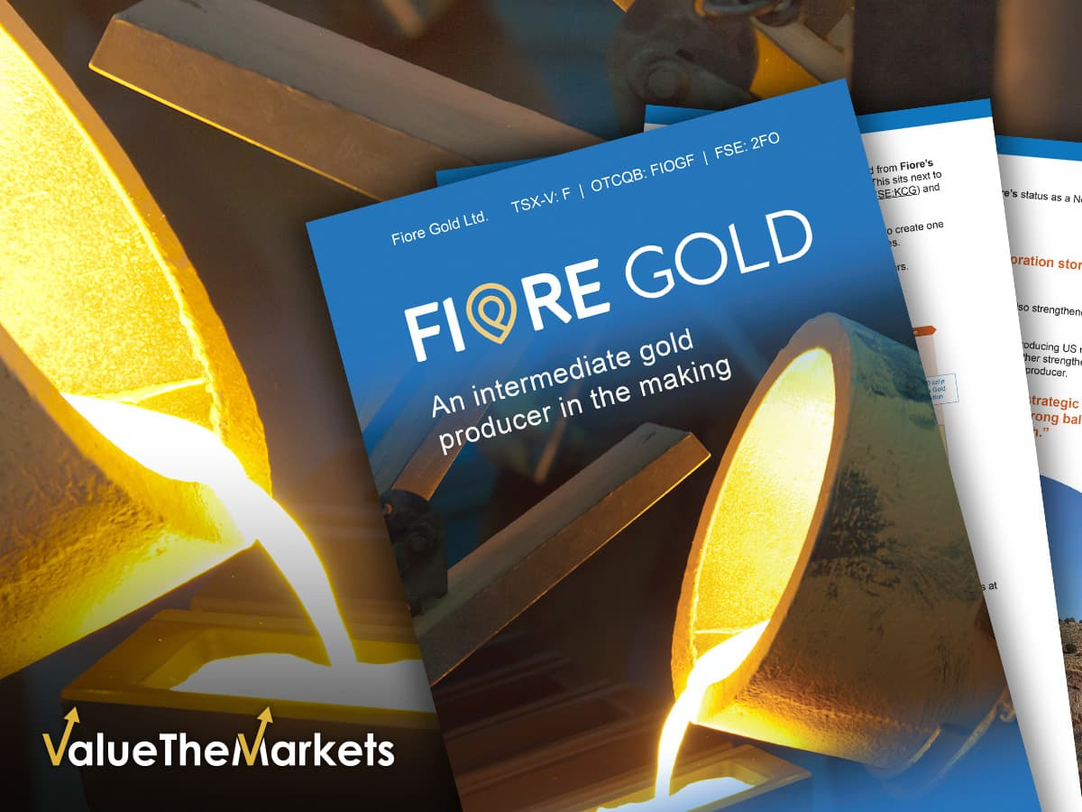 EXCLUSIVE REPORT –US gold producer Fiore Gold is about to shine (TSX-V:F│OTCQB:FIOGF│FSE:2FO)