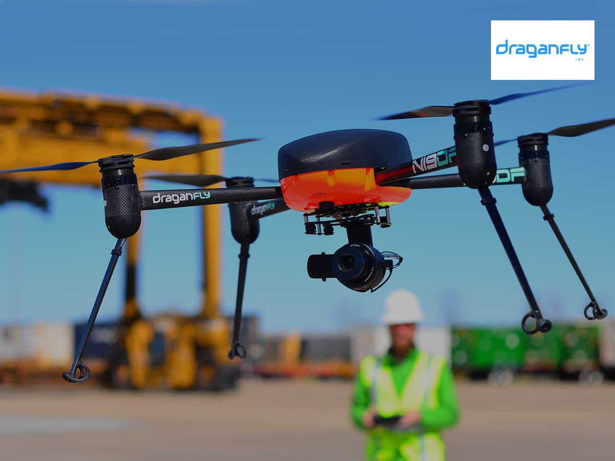 A transformational $600 million growth opportunity for U.S. drone manufacturer Draganfly (OTCQB:DFLYF | CSE:DFLY | FSE: 3U8)