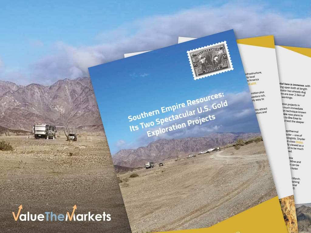 SPECIAL REPORT: Southern Empire Mining – Unearthing significant gold exploration potential in two of North America's leading mining states (TSX-V:SMP│Frankfurt:5RE)