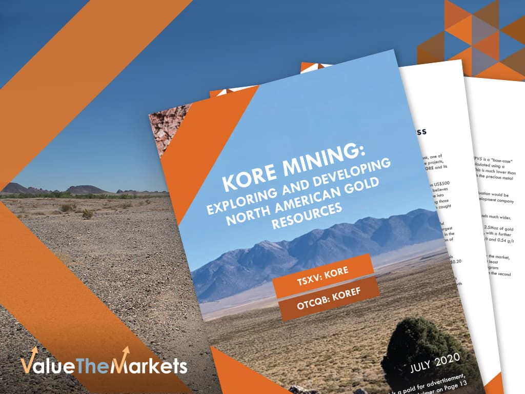 SPECIAL REPORT: KORE Mining – the gold stock with MUCH further to run. (TSX-V:KORE OTC:KOREF)