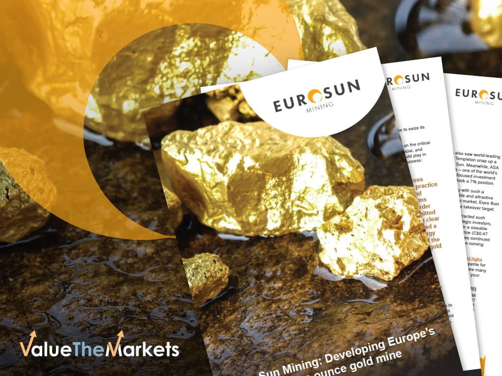 SPECIAL REPORT: Funding secured for the 10 million ounce Rovina Valley Gold Project in the European Union – Euro Sun Mining (TSX:ESM | OTCQB:CPNFF)