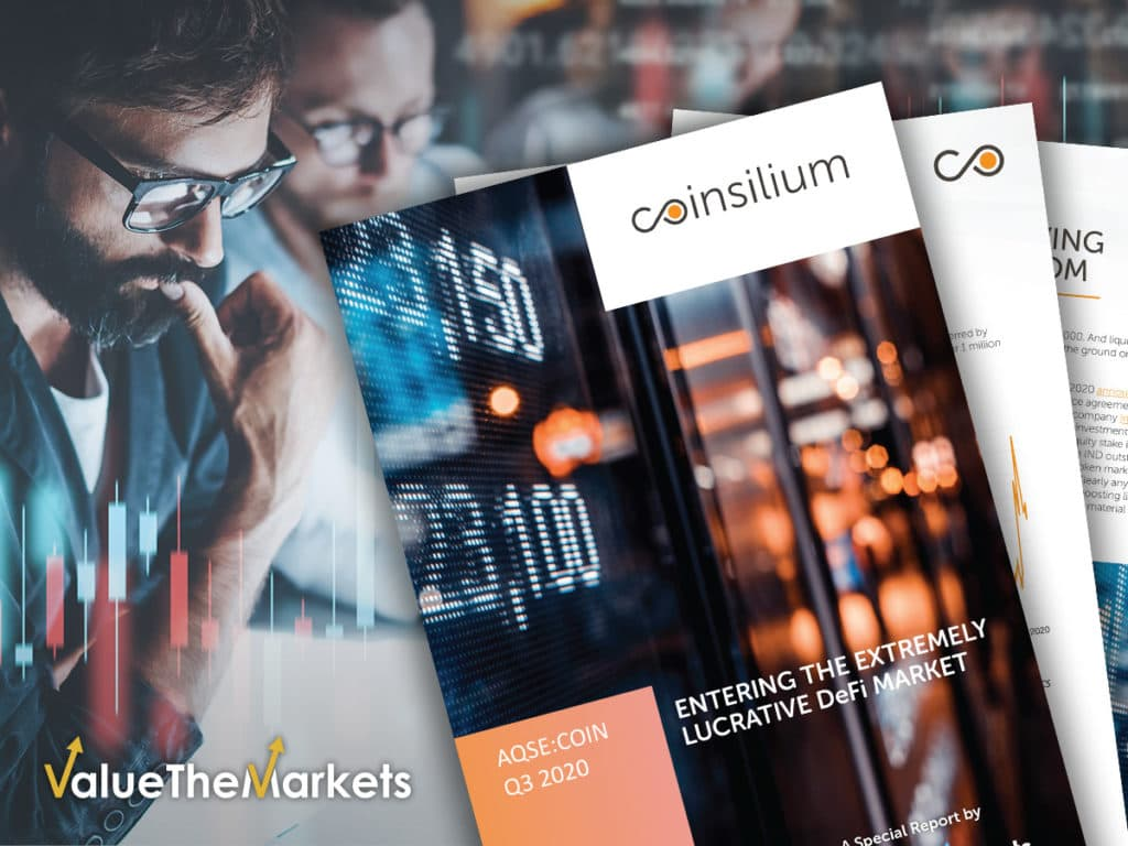 EXCLUSIVE REPORT: Coinsilium's entry into the extremely lucrative DeFi market (COIN)
