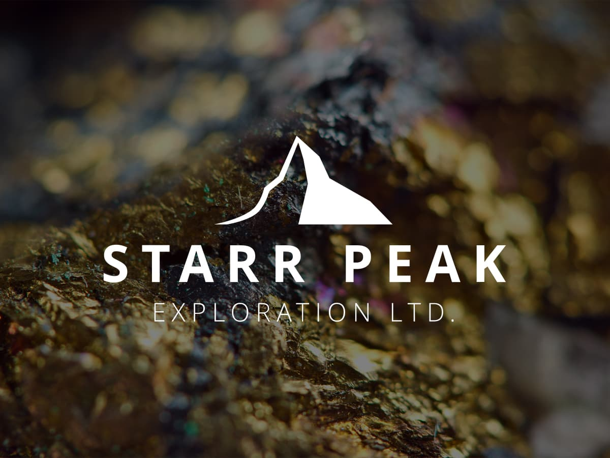 Starr Peak Neighbour Reports Exciting Surface Gold Bearing System.