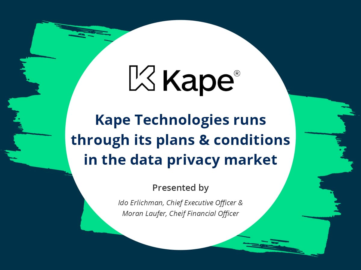 VIDEO: Online distribution player Kape Technologies runs through its plans and conditions in the data privacy market