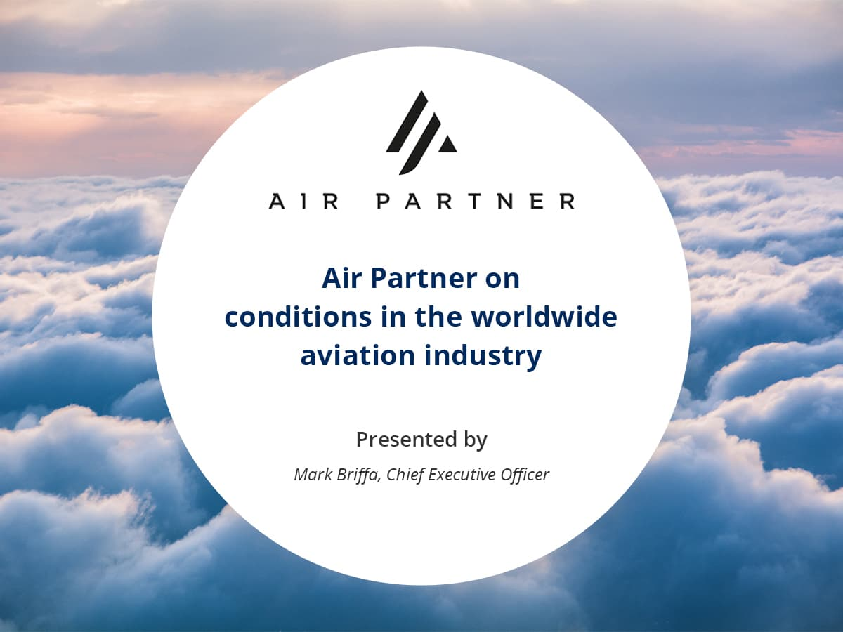 VIDEO: Air Partner on conditions in the worldwide aviation industry