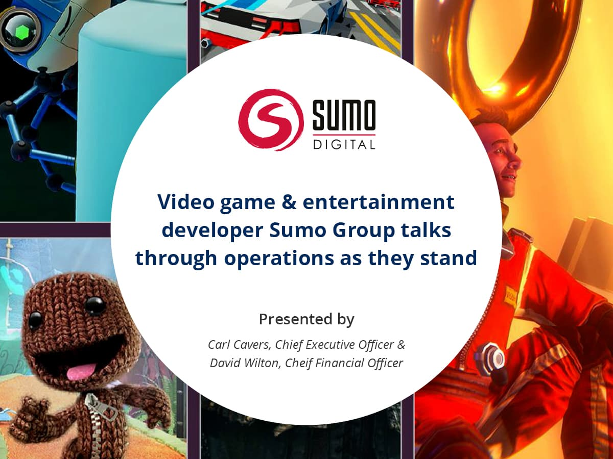 VIDEO: Video game and entertainment developer Sumo Group talks through operations as they stand