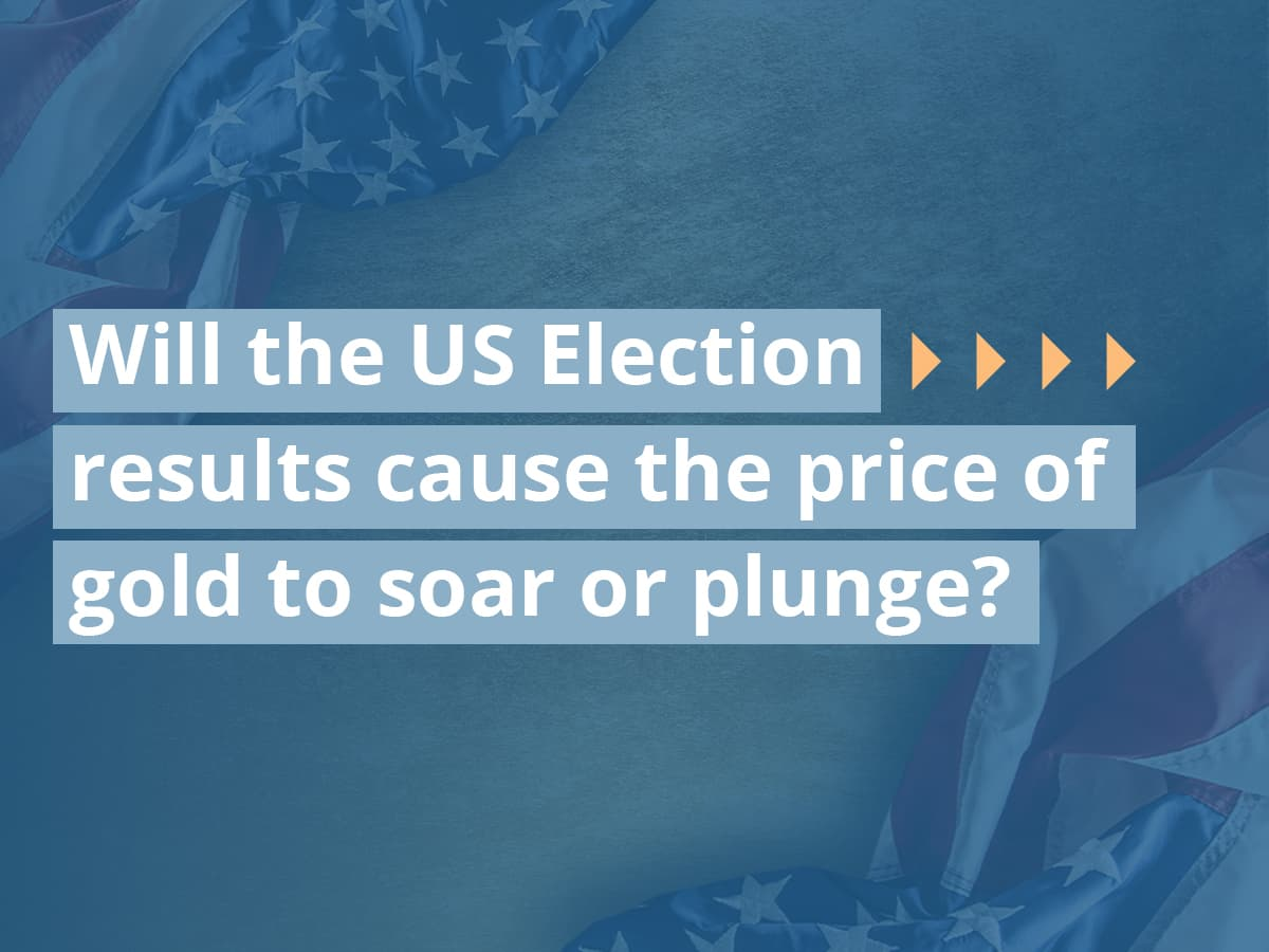 Will the US Election results cause the price of gold to soar or plunge?