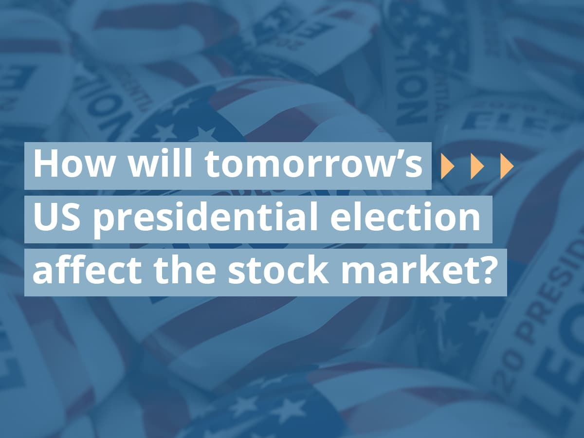 How will tomorrow's US presidential election affect the stock market?