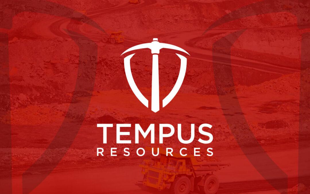TEMPUS ANNOUNCES HIGH-GRADE ASSAYS