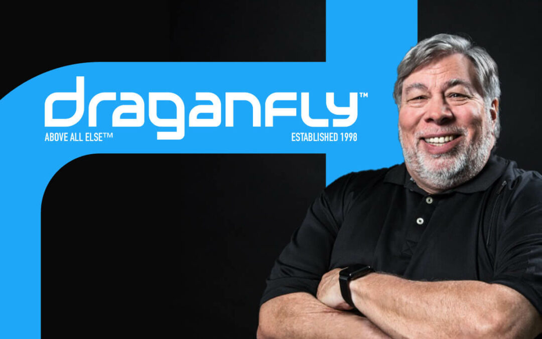 Draganfly: Exclusive deal with Apple's co-founder