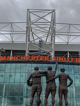 TRINITY. Old Trafford. Manchester United.
