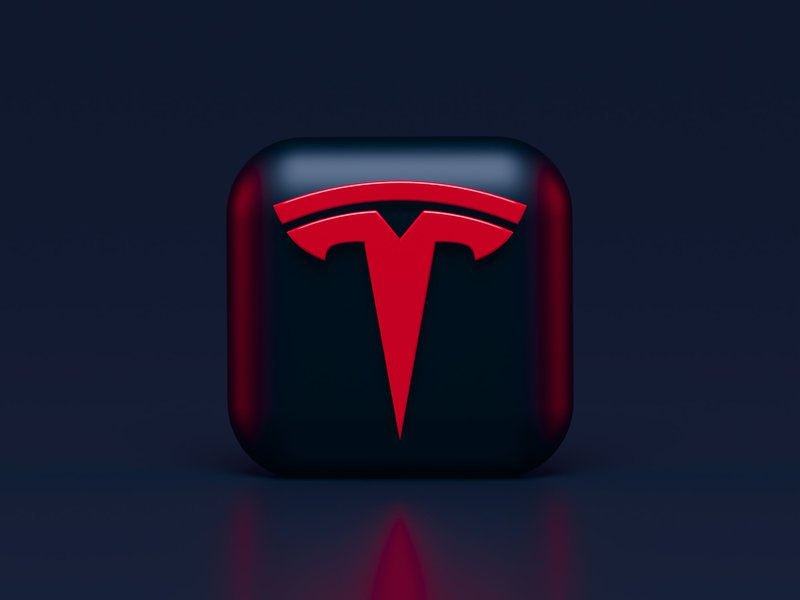 Tesla 3D Icon Concept in Dark Mode. It is for you, Elon and fans ?