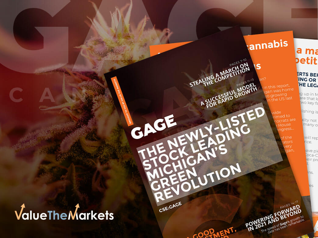 Gage Growth Corp – dominating one of America's fastest-growing Green markets with big-name backers