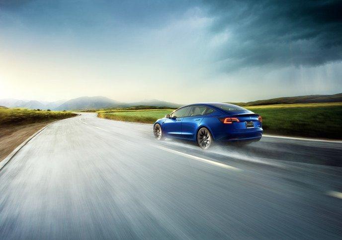 Tesla Model 3 $TSLA best-selling luxury sedan