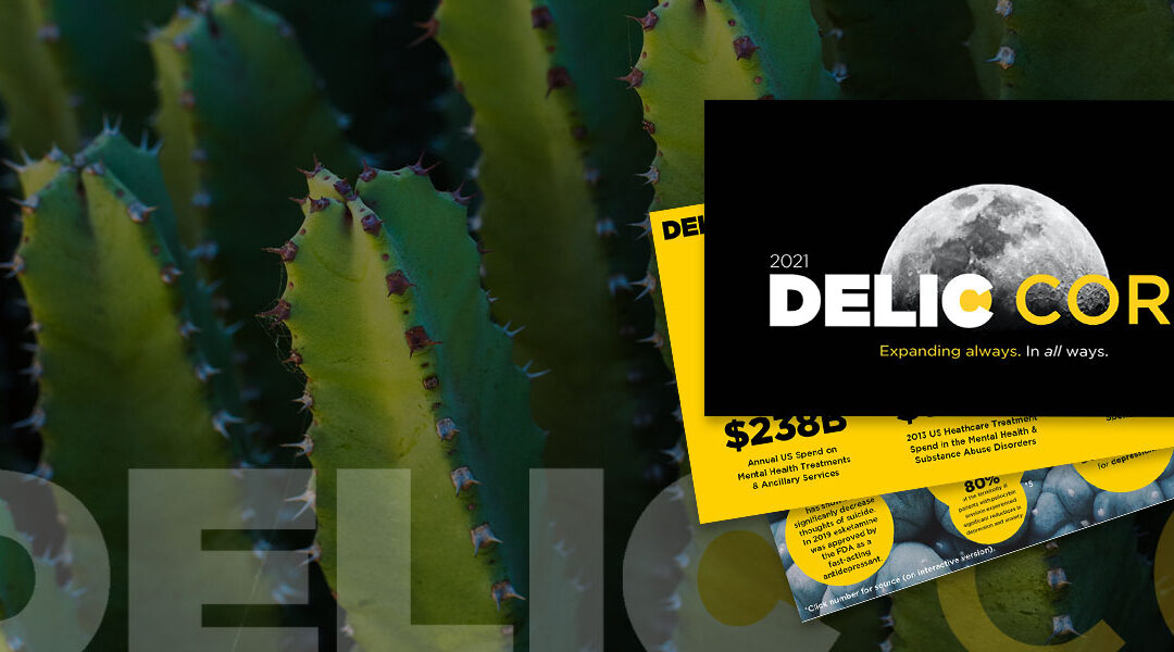 Delic Corp is best positioned to capture the full impact of the psychedelic wellness industry.