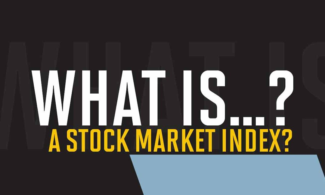 What is a stock market index?